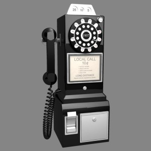 Retro PayPhone