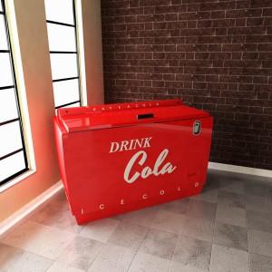 Vintage Cola Chest